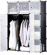 Plastic Wardrobe With Doors & 2 Hangers - Deeper Cube | Furniture for sale in Nairobi, Nairobi Central