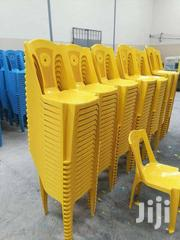 Yellow Plastic Chairs   Furniture for sale in Machakos, Athi River