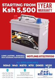 Car Batteries Free Maintenance Quality Guaranteed | Vehicle Parts & Accessories for sale in Nairobi, Kilimani