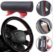 Hand Stitched Steering Wheel Cover - Non Leather | Vehicle Parts & Accessories for sale in Nairobi, Maringo/Hamza