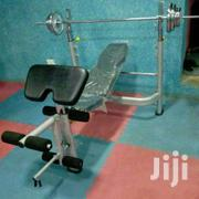 Weight Lifting Bench With 50kg Weights | Sports Equipment for sale in Nairobi, Nairobi Central