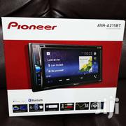 """Pioneer AVH-A215BT 6.2 2-din Bluetooth USB DVD Time Alignment Radio C"""" 