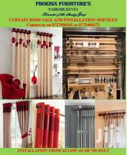 Installation Of Curtain Rods | Furniture for sale in Homa Bay, Mfangano Island