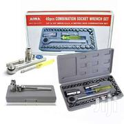 Mini Combination Socket Wrench 40pc Tool Set W/Reversible Ratchet Ha | Hand Tools for sale in Nairobi, Nairobi Central
