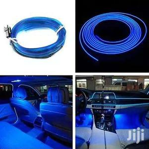 NEW 5M Car LED Wire Cold Light Glow Interior Flexible Decor Lamp