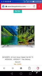 SKYWORTH 43 Inch Smart Digital Full HD TV 43S3A32G /S3A31T | TV & DVD Equipment for sale in Uasin Gishu, Racecourse
