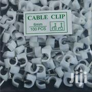 Cable Clips 6mm 100pc | Computer Accessories  for sale in Nairobi, Nairobi Central