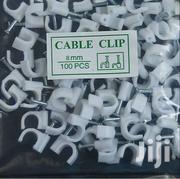Cable Clips 8mm 100pc | Computer Accessories  for sale in Nairobi, Nairobi Central