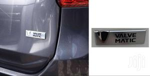 Chrome Tail Gate Sticker : For Toyota/Voxy/Wish/Allion (Valvematic)