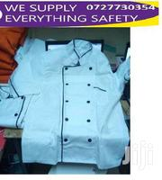 White Chef Jacket With Black Piping | Clothing for sale in Nairobi, Nairobi Central