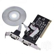 PCI To Dual Serial DB9 RS232 RS-232 2 Port Extension Adapter Card | Computer Accessories  for sale in Nairobi, Nairobi Central