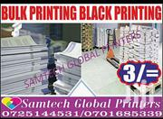 Bulky Printing Of Black And White Documents | Computer & IT Services for sale in Nairobi, Njiru