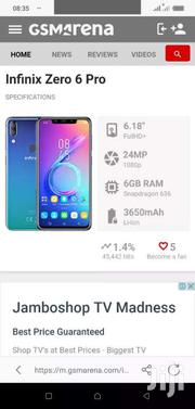 Inifinix Zero6pro New | Mobile Phones for sale in Uasin Gishu, Kimumu