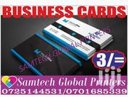 Business Cards Printing High Quality | Computer & IT Services for sale in Nairobi, Njiru