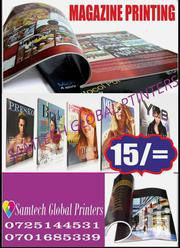 Magazine Printing Full Color | Computer & IT Services for sale in Nairobi, Njiru