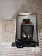 Gold Colour Dz09 Smart Watch Touch Screen | Accessories for Mobile Phones & Tablets for sale in Nairobi, Embakasi