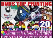 CD Covers Printing Full Color High Quality | Computer & IT Services for sale in Nairobi, Njiru