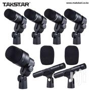 TAKSTAR DMS-D7 Drum Set Wired Microphone Mic Kit | Audio & Music Equipment for sale in Nairobi, Nairobi Central
