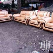 7 Seater Leather Sofa | Furniture for sale in Nairobi, Ngara