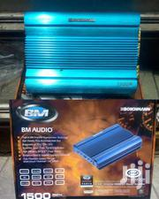 BOSCHMANN FULLY BRIDGEABLE 4/3/2 CHANNEL POWER CAR AMPLIFIER 1500 WATT | Vehicle Parts & Accessories for sale in Nairobi, Nairobi Central