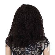 """Glamlook 20 - Thick Curly Human Hair Wig With Mesh - No 2 With Free H"""" 