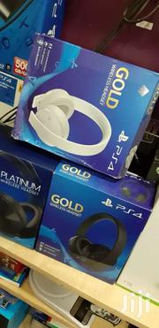 Ps4 Gaming Headsets Gold Headset | Computer Accessories  for sale in Nairobi, Nairobi Central