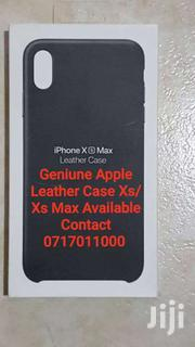 Geniune Apple  Leather Case For Xs/Xs Max | Accessories for Mobile Phones & Tablets for sale in Mombasa, Mji Wa Kale/Makadara