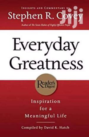 Everyday Greatness- Stephen R Covey