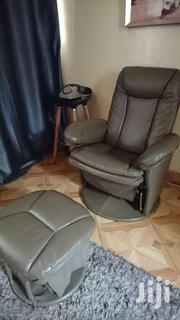 Recliner Leather Seat And Swivel Footrest | Furniture for sale in Nairobi, Pangani