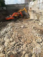 Excavator Fitted With Either Bucket Or Hydraulic Breaker For Hire | Heavy Equipments for sale in Nairobi, Karen