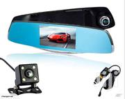 Dash Camera Dual Cameras Lens Car DVR With 2 Camera Rearview Dashcam | Vehicle Parts & Accessories for sale in Nairobi, Nairobi Central