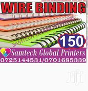 Wire Binding | Other Services for sale in Nairobi, Nairobi Central