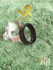 Black Carbon Fibere Tungsten Carbife Wedding Ring Band | Jewelry for sale in Nairobi, Lower Savannah