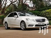 2012 Mercedes Benz E250 With Radar Full Options 21000kms | Cars for sale in Nairobi, Riruta