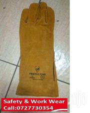 Yellow Protective Leather Gloves | Manufacturing Equipment for sale in Nairobi, Nairobi Central