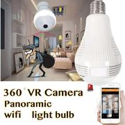 Wifi 360° Panaromic View Bulb Camera, FREE Screw To Pin Bulb Adapter | Cameras, Video Cameras & Accessories for sale in Nairobi, Nairobi Central