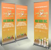 Roll Up Banner Printing | Computer & IT Services for sale in Nairobi, Nairobi Central