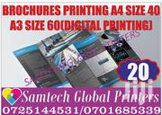 Brochures Printing Ful Color   Computer & IT Services for sale in Nairobi, Nairobi Central