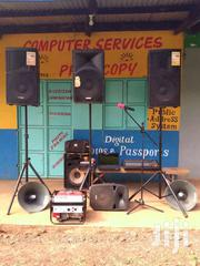 Public Address System For Hire | Other Services for sale in Nyeri, Ruring'U