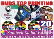 Dvds Top Covers Printing | Computer & IT Services for sale in Nairobi, Nairobi Central
