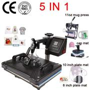 12 By 15 Inch Swing-away 5 In 1 Combo Heat Press Machine Digital | Home Appliances for sale in Nairobi, Nairobi Central