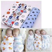 Generic 4pcs Boys Newborn Swaddlers Cute Receiving Blanket Multi Purpo | Toys for sale in Nairobi, Nairobi Central