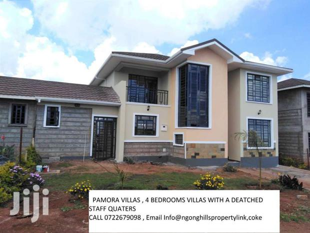 Archive: Four Bedrooms Villas For Sale In Ngong