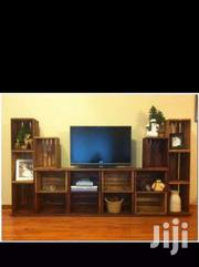 Pallets Crate TV Stand | Furniture for sale in Kiambu, Kiuu