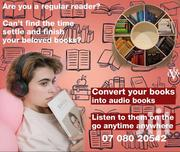 Audio Book Conversion | Computer & IT Services for sale in Nairobi, Harambee