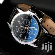 Men's Leather Military Casual Analog Quartz Wrist Watch | Watches for sale in Nairobi, Komarock