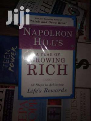 Napoleon Hill's A Year Of Growing Rich:  Napoleon Hill