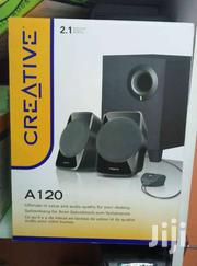 CREATIVE A120 - 2.1ch PC Speakers With Subwoofer - Black | Audio & Music Equipment for sale in Nairobi, Nairobi Central