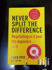 Never Split The Difference - Chris Voss | Books & Games for sale in Nairobi, Nairobi Central