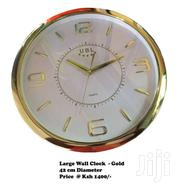 Large Wall Clock  -gold | Home Accessories for sale in Nairobi, Nairobi Central